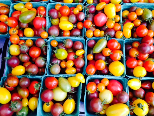 These little heirloom tomatoes from Stein Mountain Farm look like jujube candies!