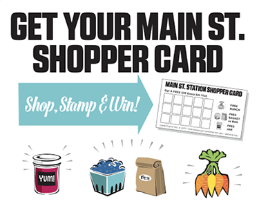 Main St. shopper card
